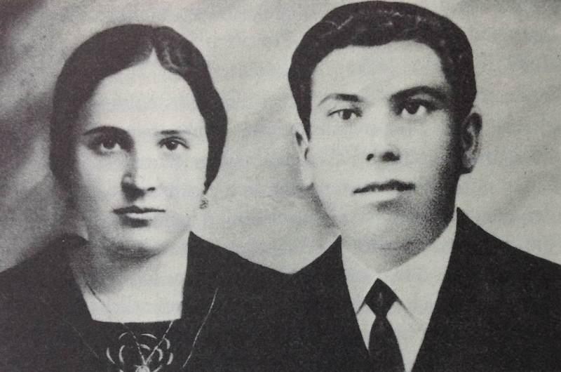 Valentín y Juana antes de la guerra