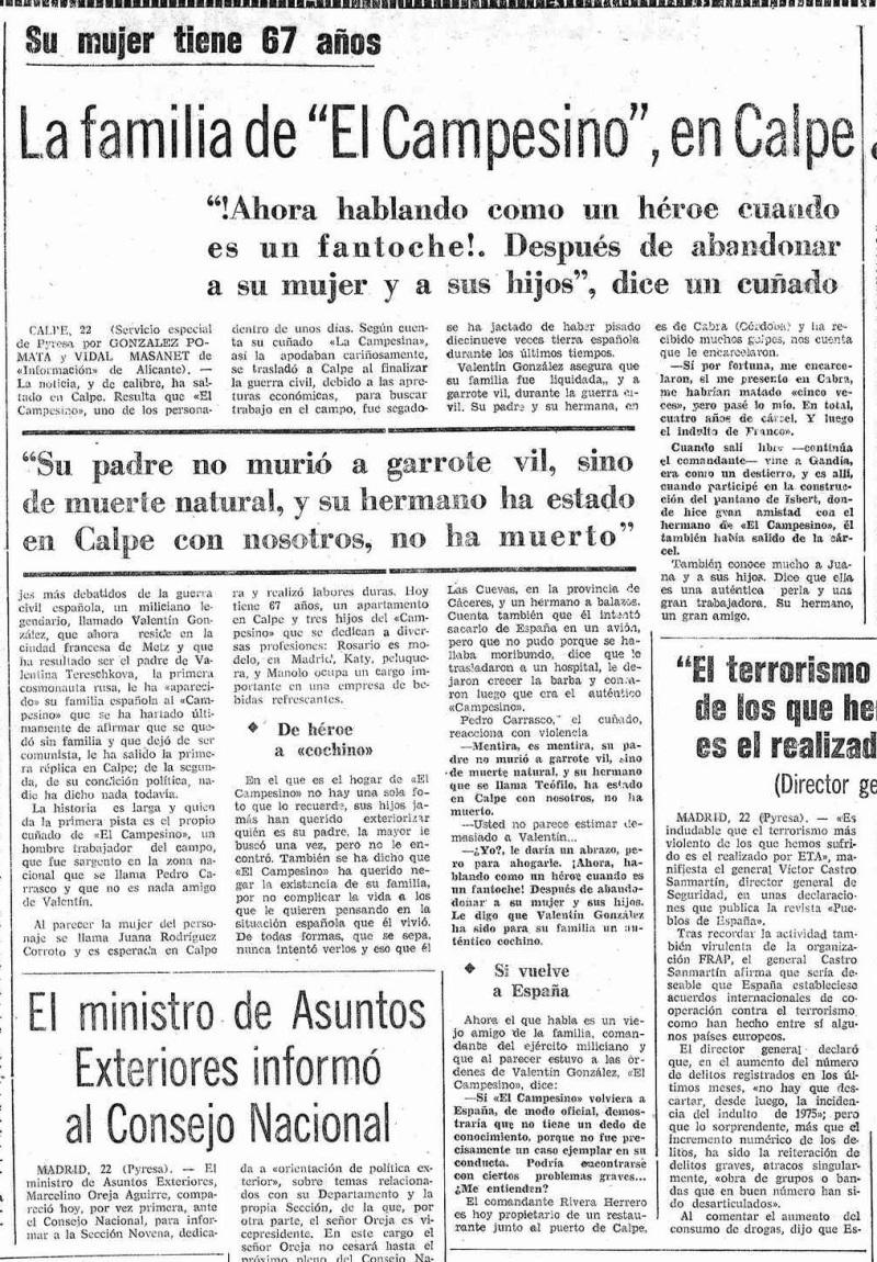 Mediterráneo, julio de 1976