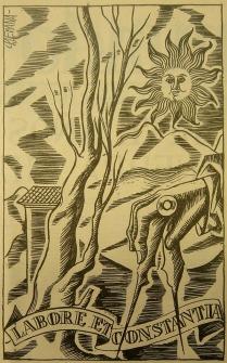Labore et Constantia. Semanario El Español, 1943